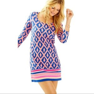 Lilly Pulitzer Beacon Dress Little Fish Chase/XS